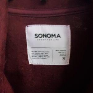Sonoma Jackets & Coats - Fleece track jacket
